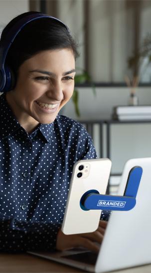 Laptop Swivel Phone Mount
