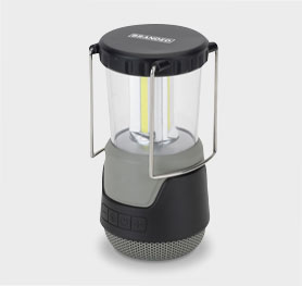 Basecamp Grizzly Camping Light with Speaker