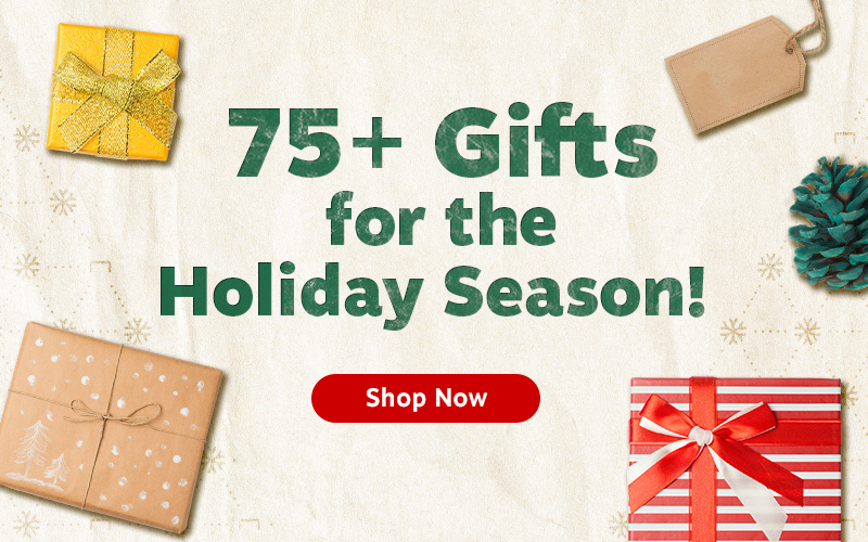 75+ Gifts for the Holiday Season!