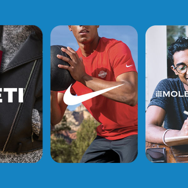 Retail Brands featuring Yeti, Nike, Moleskine and more